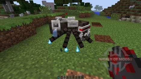 Laser Creeper Robot Dino Riders [1.7.10] para Minecraft