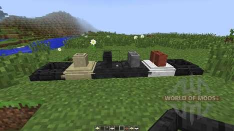 Decorative Marble and Chimneys [1.7.10] para Minecraft
