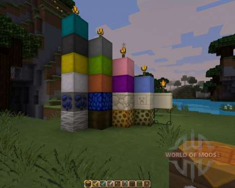 The Galaxy Pack [64x][1.8.1] para Minecraft