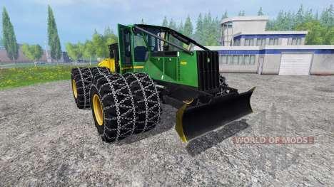 John Deere 748H para Farming Simulator 2015