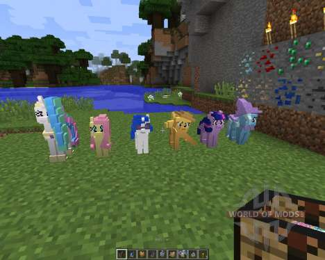 The My Little Pony Model Pack [32x][1.8.1] para Minecraft