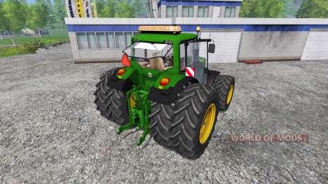 John Deere 6830 v1.1 para Farming Simulator 2015
