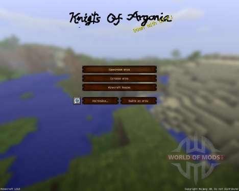 Knights Of Argonia [32x][1.8.8] para Minecraft
