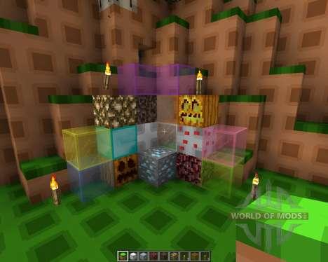 Simple Space [16x][1.8.1] para Minecraft