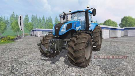 New Holland T8.320 v2.2 para Farming Simulator 2015