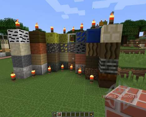 Smooth Cartoon Resource Pack [64x][1.8.8] para Minecraft