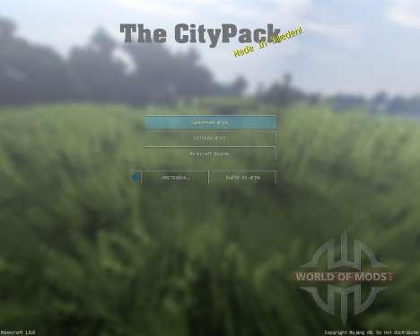 City Pack V0.7 [64x][1.8.8] para Minecraft