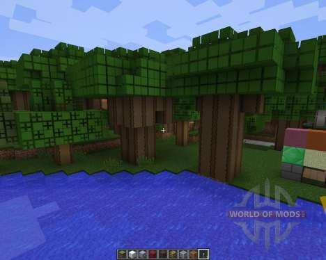 The Mustache Pack Discontinued [64x][1.8.1] para Minecraft