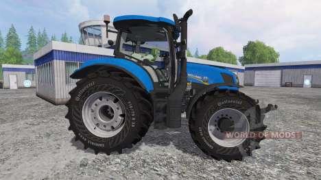 New Holland T6.160 v2.0 para Farming Simulator 2015