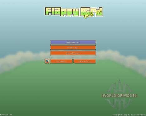 Flappy Bird Resource Pack [16x][1.8.8] para Minecraft