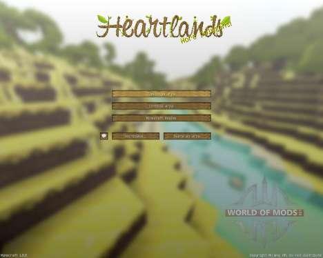 Heartlands Resource Pack [16x][1.8.8] para Minecraft