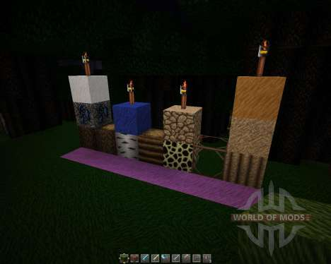 Davids Detailed Resource Pack [64x][1.8.8] para Minecraft