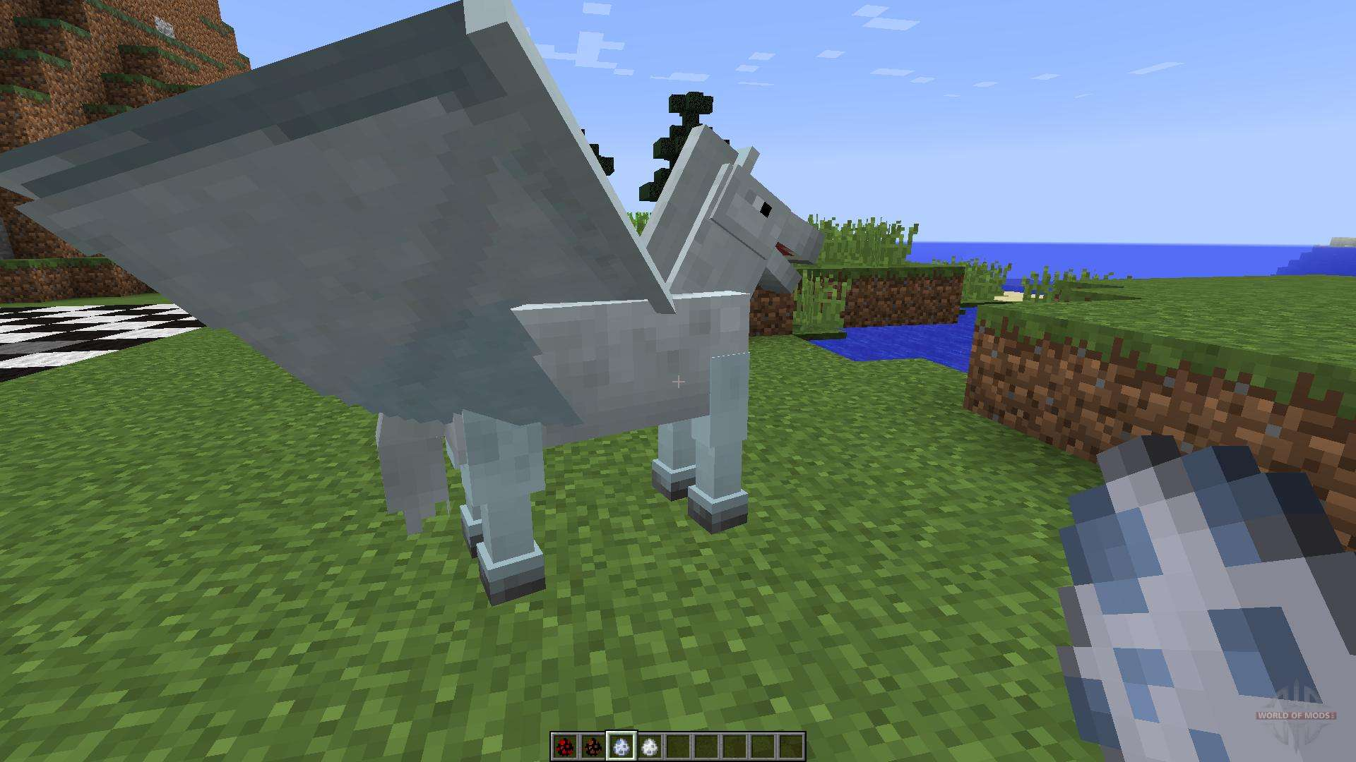 how to get a unicorn in minecraft no mods
