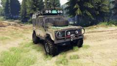 Land Rover Defender 110 para Spin Tires