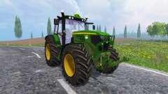 John Deere 6140M para Farming Simulator 2015