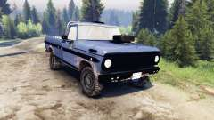Ford F-100 custom PJ4 para Spin Tires