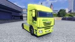 La piel Kappeli Logistik para Iveco tractora para Euro Truck Simulator 2