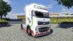 La piel de EMR para camiones Volvo para Euro Truck Simulator 2