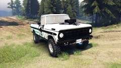 Ford F-100 custom PJ1 para Spin Tires