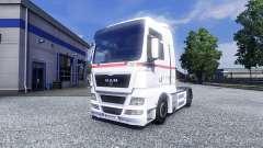 La piel de las Ruedas de la Logística en el camión de HOMBRE para Euro Truck Simulator 2