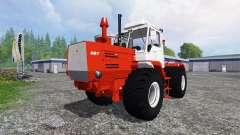 T-150K rojo para Farming Simulator 2015