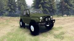 UAZ-3159 trofeo para Spin Tires
