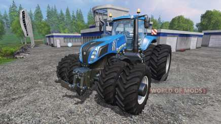 New Holland T8.275 Twin Wheels v1.1 para Farming Simulator 2015