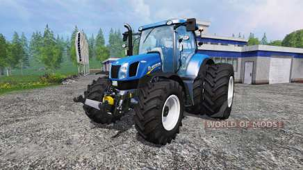 New Holland T6.175 twin wheels para Farming Simulator 2015
