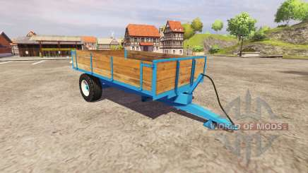 Solo eje volquete remolque para Farming Simulator 2013