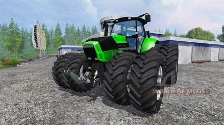Deutz-Fahr Agrotron X 720 Ploughing Spec para Farming Simulator 2015