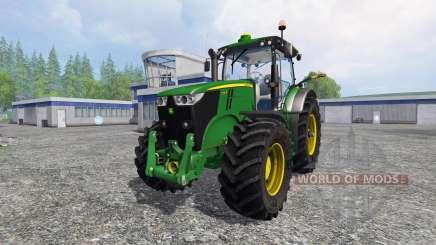 John Deere 7200R v2.0 para Farming Simulator 2015