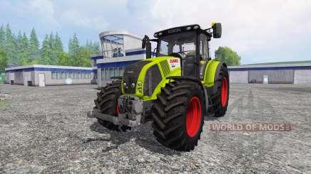 CLAAS Axion 850 v2.5 para Farming Simulator 2015