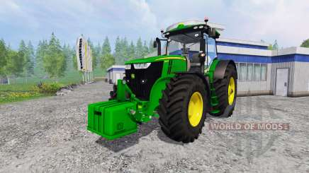 John Deere 7290R and 8370R v0.2 para Farming Simulator 2015