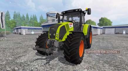 CLAAS Axion 850 v5.0 para Farming Simulator 2015
