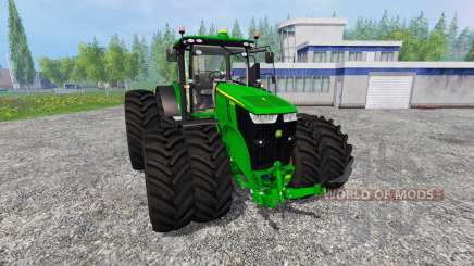 John Deere 7290R and 8370R v1.0b para Farming Simulator 2015