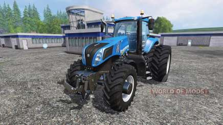 New Holland T8.275 Twin Wheels para Farming Simulator 2015