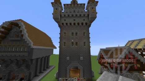 Medieval building pack para Minecraft