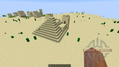 paintball map 7 para Minecraft