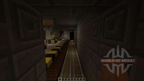 Subway Minecraft 1v1 Map para Minecraft