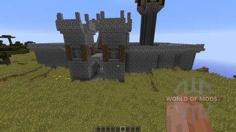 Medieval Castle para Minecraft