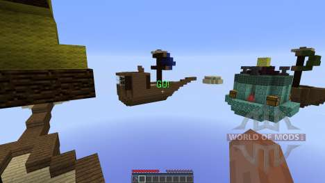 Battle of the Skies Released para Minecraft