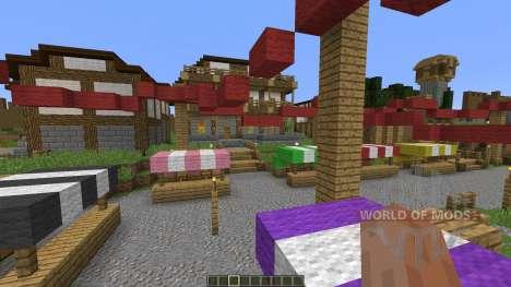 Medieval Village para Minecraft
