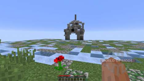 Weather Warzone PvP Map para Minecraft