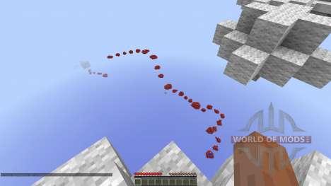 Through the Skies Parkour Race para Minecraft