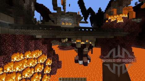 Prison of the Nether Monsters para Minecraft