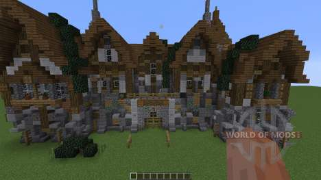A Medieval Manor para Minecraft