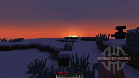 Snow Adventure Map para Minecraft
