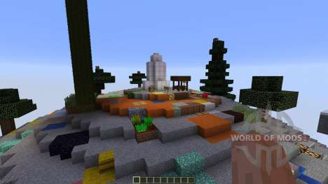 Skyspheres Survival para Minecraft