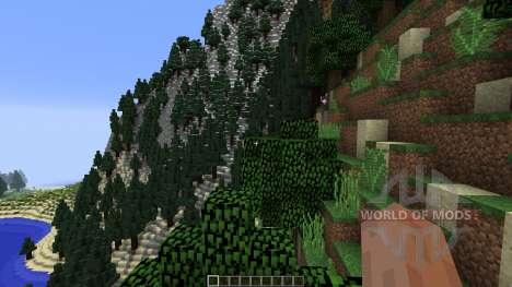 Lost Summit para Minecraft