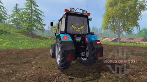 MTZ-82.1 Belarús optimización v2.3 para Farming Simulator 2015
